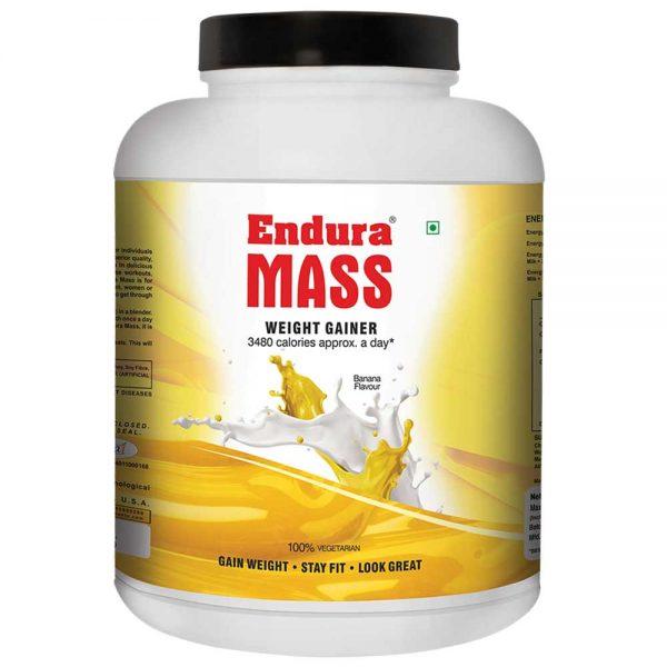 ENDURA MASS WEIGHT GAINER 3kg - MEDINN BELLE HERBAL CARE PVT LTD www.oms99.in