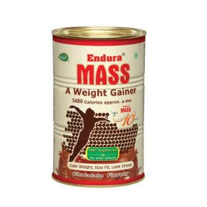 ENDURA MASS WEIGHT GAINER 500gm - MEDINN BELLE HERBAL CARE PVT LTD www.oms99.in