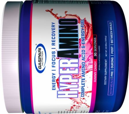 GASPARI NUTRITION HYPER AMINO 30servings COMPLETE AMINO ACID & ENERGY FUEL 30servings - GASPARI NUTRITION www.oms99.in