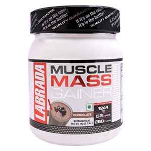 LABRADA MUSCLE MASS GAINER 2.2lb DIETARY SUPPLEMENT 2.2lb - LABRADA NUTRITION www.oms99.in