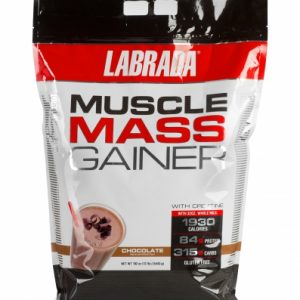 LABRADA MUSCLE MASS GAINER WITH CREATINE 12lb DIETARY SUPPLEMENT 12lb - LABRADA NUTRITION www.oms99.in