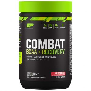 MP COMBAT SERIES COMBAT BCAA 30servings SUPPORT LEAN MUSCLE MAINTENANCE 30servings - MUSCLEPHARMA www.oms99.in