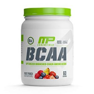 MP ESSENTIALS BCAA 60servings OPTIMIZED BRANCHED CHAIN AMINO ACID 60servings - MUSCLEPHARMA www.oms99.in