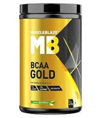 MUSCLEBLAZE MB BCAA GOLD 450gm THE POWER RATIO OF 811 450gm - MB www.oms99.in