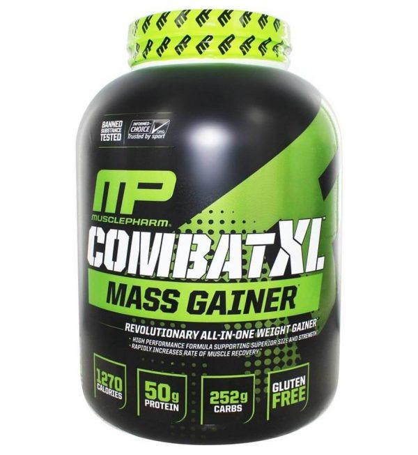 MUSCLEPHARMA COMBAT XL MASS GAINER 6lb REVOLUTIONARY ALL IN ONE WEIGHT GAINER 6lb - MP www.oms99.in