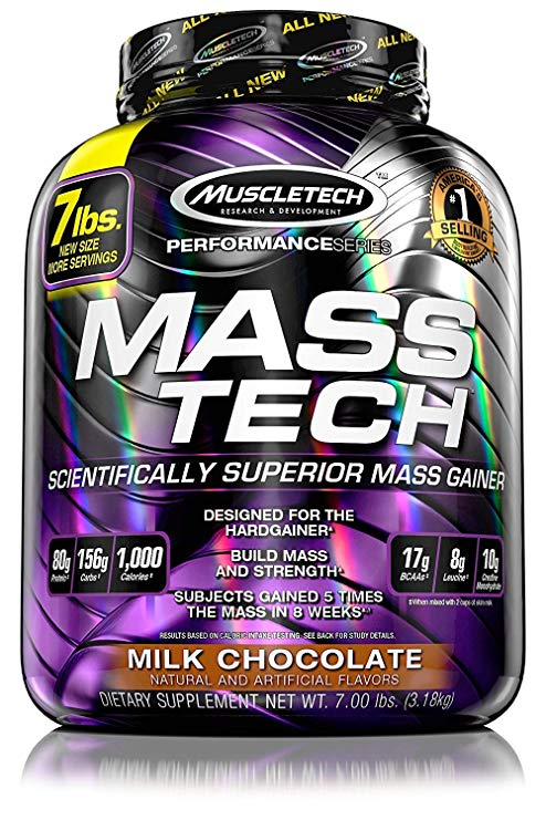 MUSCLETECH PERFORMANCE SERIES MASS TECH 7lb SCIENTIFICALLY SUPERIOR MASS GAINER 7lb - MUSCLETECH www.oms99.in