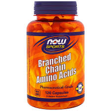NOW SPORTS BRANCHED CHAIN AMINO ACID BCAA 120capsules PHARMACEUTICAL GRADE 120capsules - NOW FOODS www.oms99.in