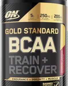 ON GOLD STANDARD BCAA 28servings TRAIN & RECOVER 28servings - OPTIMUM NUTRITION www.oms99.in