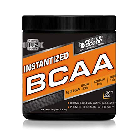 PROTEIN SCOOP INSTANTIZED BCAA 30servings PROMOTE LEAN MASS & RECOVERY 30 SERVINGS www.oms99.in