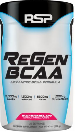 RSP REGEN BCAA 30servings ADVANCED BCAA FORMULA 30servings - RSP NUTRITION www.oms99.in