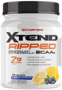 SCIVATION XTEND RIPPED BCAA 30servings NON STIMULANT CUTTING FORMULA 30servings - SCIVATION www.oms99.in