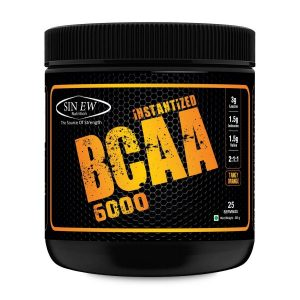 SINEW NUTRITION INSTANTIZED BCAA 6000 200gm - SINEW NUTRITION www.oms99.in