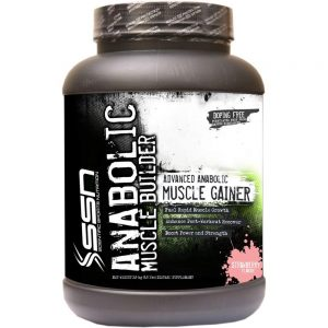 SSN ANABOLIC MUSCLE BUILDER XXXL 5.5lb ADVANCED ANABOLIC MUSCLE GAINER 5.5lb - SSN www.oms99.in