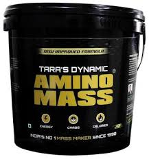 TARA'S DYNAMIC AMINO MASS NEW IMPROVED FORMULA 8.8lb INDIA'S NO 1 MASS MAKER 8.8lb - TARA NUTRICARE www.oms99.in