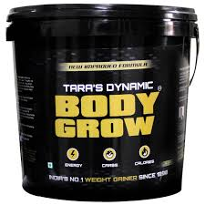 TARA'S DYNAMIC BODY GROW NEW IMPROVED FORMULA 8.8lb INDIA'S NO 1 WEIGHT GAINER 8.8lb - TARA NUTRICARE www.oms99.in