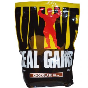 UNIVERSAL REAL GAINS WEIGHT GAINER 6.85lb DIETARY SUPPLEMENT 6.85lb - UNIVERSAL NUTRITION www.oms99.in