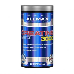 ALLMAX NUTRITION CREATINE 3000 CAPSULES 150capsules - ALLMAX NUTRITION www.oms99.in
