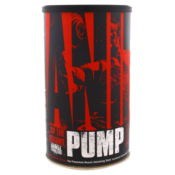 ANIMAL PUMP UP THE VOLUME 30packs THE PREWORKOUT MUSCLE VOLUMIZING STACK 30packs - UNIVERSAL NUTRITION www.oms99.in