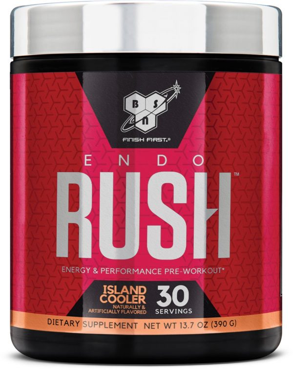 BSN ENDO RUSH ENERGY & PERFORMANCE PRE WORKOUT 390gm - BSN www.oms99.in
