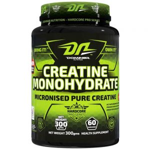 DOMIN8R NUTRITION CREATINE MONOHYDRATE 300gm MICRONISED PURE CREATINE 300gm - DOMIN8R NUTRITION www.oms99.in