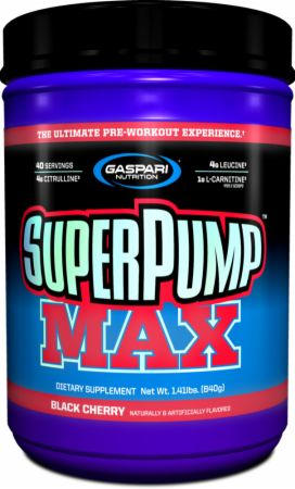 GASPARI NUTRITION SUPER PUMP MAX 640gm THE ULTIMATE PRE WORKOUT EXPERIENCE 640gm - GASPARI NUTRITION www.oms99.in