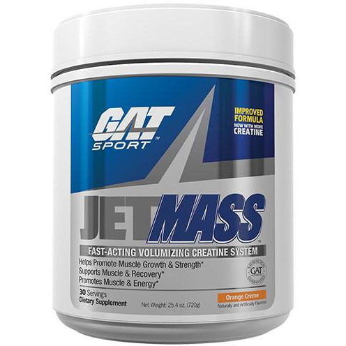 GAT SPORT JET MASS CREATINE 720gm FAST ACTING VOLUMIZING CREATINE SYSTEM 720gm - GAT SPORT www.oms99.in