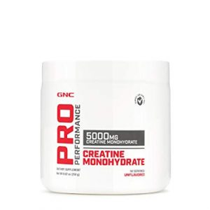 GNC PRO PERFORMANCE CREATINE MONOHYDRATE 250gm 5000MG CREATINE MONOHYDRATE 250gm - GNC www.oms99.in