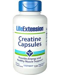 LIFE EXTENSION CREATINE CAPSULES 120capsules PROVIDE ENERGY AND HEALTHY MUSCLE SUPPORT 120capsules - LIFE EXTENSION www.oms99.in