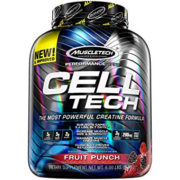 MUSCLETECH PERFORMANCE SERIES CELL TECH 6lb THE MOST POWERFUL CREATINE FORMULA 6lb - MUSCLETECH www.oms99.in