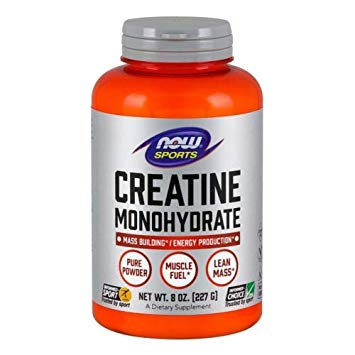 NOW SPORTS CREATINE MONOHYDRATE 227gm MASS BUILDING ENERGY PRODUCTION 227gm - NOW FOODS www.oms99.in