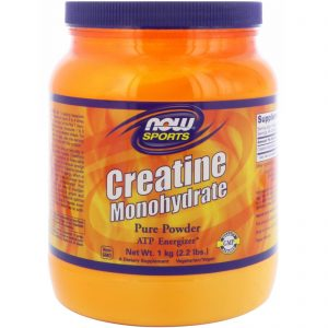 NOW SPORTS CREATINE MONOHYDRATE PURE POWDER 2.2lb - NOW FOODS www.oms99.in