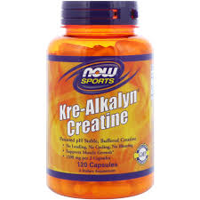 NOW SPORTS KRE-ALKALYN CREATINE 120capsules - NOW FOODS www.oms99.in