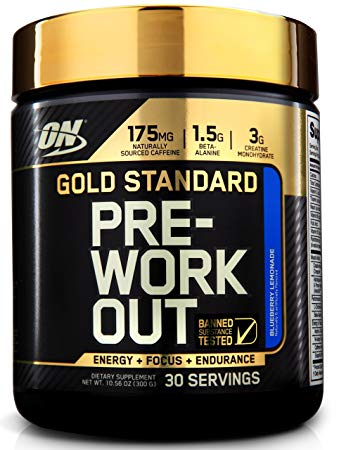 ON GOLD STANDARD PRE WORKOUT 300gm - OPTIMUM NUTRITION www.oms99.in