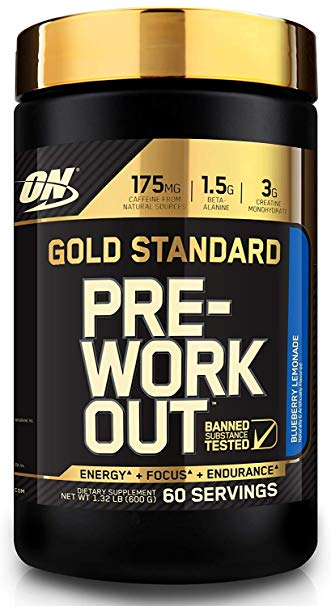 ON GOLD STANDARD PRE WORKOUT 600gm - OPTIMUM NUTRITION www.oms99.in