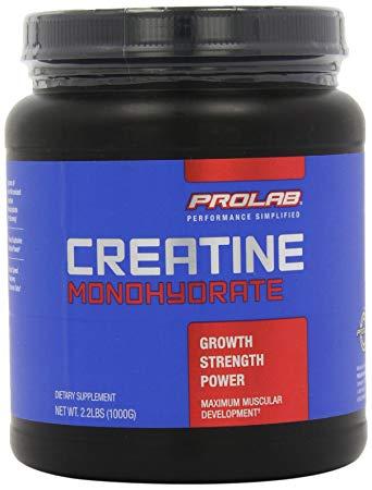 PROLAB CREATINE MONOHYDRATE 1000gm GROW STRENGTH POWER 1000gm - PROLAB www.oms99.in