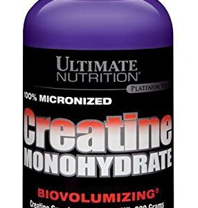 ULTIMATE NUTRITION PLATINUM SERIES 100% MICRONIZED CREATINE MONOHYDRATE BIOVOLUMIZING CREATINE SUPPLEMENT 300gm - ULTIMATE NUTRITION www.oms99.in