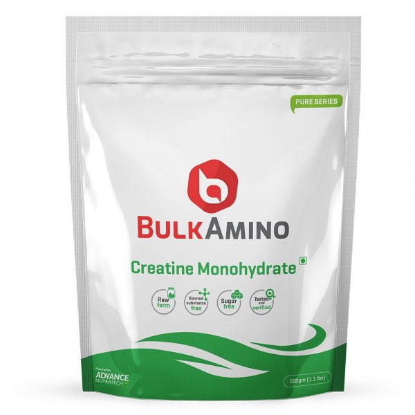 ADVANCE NUTRATECH BULK AMINO CREATINE MONOHYDRATE 500gm - ADVANCE NUTRATECH www.oms99.in