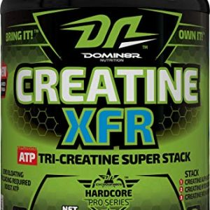 DOMIN8R NUTRITION CREATINE XFR 300gm ATP TRI CREATINE SUPER STACK 300gm - DOMIN8R NUTRITION www.oms99.in