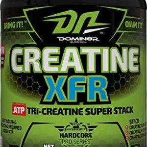 DOMIN8R NUTRITION CREATINE XFR 300gm ATP TRI CREATINE SUPER STACK 300gm - DOMIN8R NUTRITION www.oms99.in