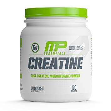 MP ESSENTIALS CREATINE 600gm PURE CREATINE MONOHYDRATE POWDER 600gm - MUSCLEPHARMA www.oms99.in