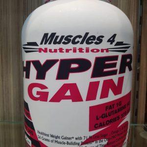 MUSCLES 4 NUTRITION HYPER GAIN 6lb - MUSCLES 4 NUTRITION www.oms99.in