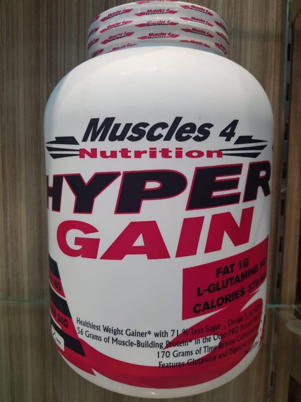 MUSCLES 4 NUTRITION HYPER GAIN 6lb - MUSCLES 4 NUTRITION www.oms99.in