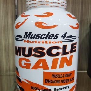 MUSCLES 4 NUTRITION MUSCLE GAIN 6lb - MUSCLES 4 NUTRITION www.oms99.in