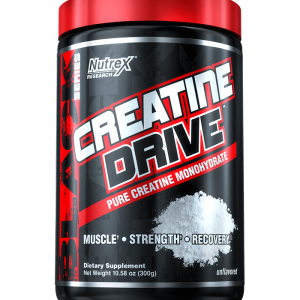 NUTREX CREATINE DRIVE 300gm PURE CREATINE MONOHYDRATE 300gm - NUTREX www.oms.in