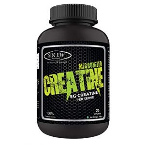 SINEW NUTRITION MICRONIZED CREATINE 5G CREATINE PER SERVE 100gm - SINEW NUTRITION www.oms.in