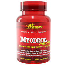 MYODROL HSP THE ONE & ONLY ORIGINAL MUSCLE CREATOR - MYOGENTIX www.oms99.in