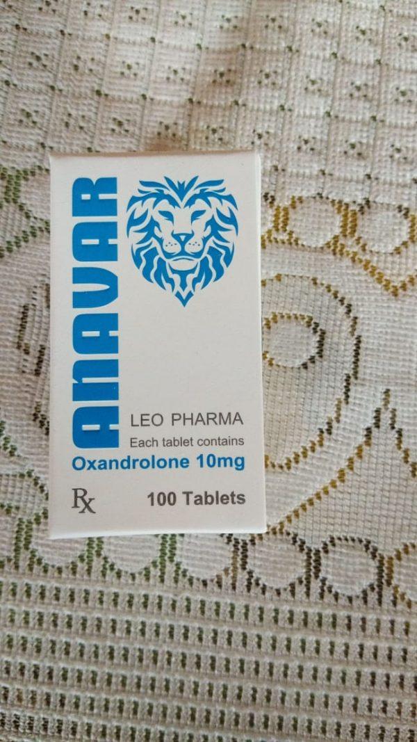 LEO PHARMA ANAVAR 10MG TABLETS OXANDROLONE 10MG TABLETS - LEO PHARMA www.oms99.in